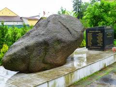 Bludný balvan v Ostravě-Porubě