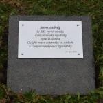Pamětní nápis pro Lípu v Havířově